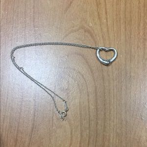 Tiffany&Co Elsa Peretti Open Heart Sterling Silver